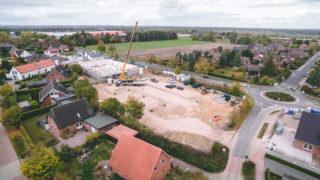 Sallier Bauträger Baustelle Handelsimmobilie Supermarkt